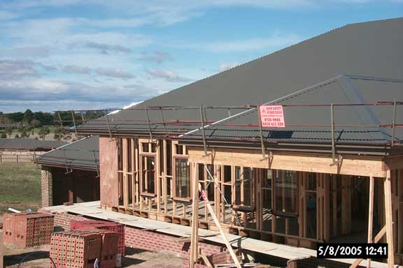 Edge protection for Roofs