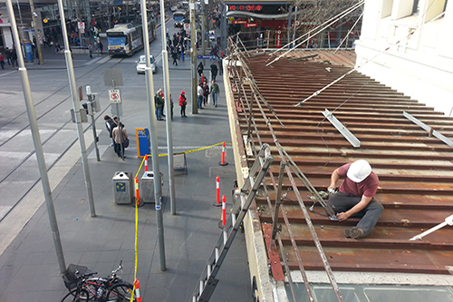 Fall protection for roofs